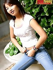 Teen So Nature Strip And Dildo Fun
